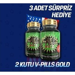 V-pills Gold 2 adet